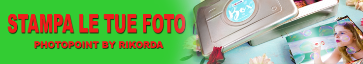 Stampa le tue foto - Photopoint by Ricorda