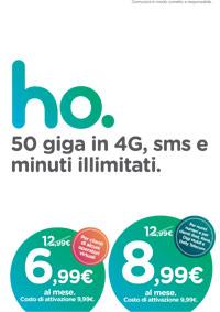 Scopri le offerte Ho Mobile