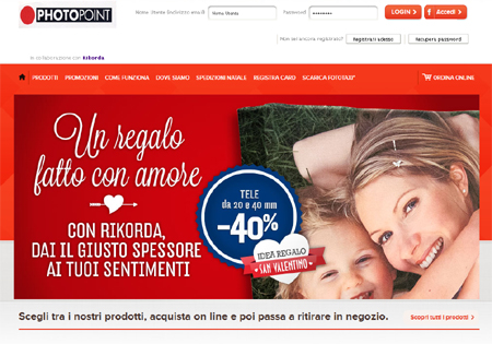 Stampa le tue foto on line con Photopoint